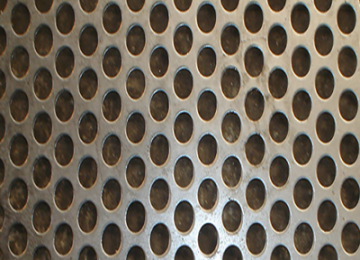 Oval Hole Perforated Sheets  Manufacturer, Supplier and Retailer in Gujarat
