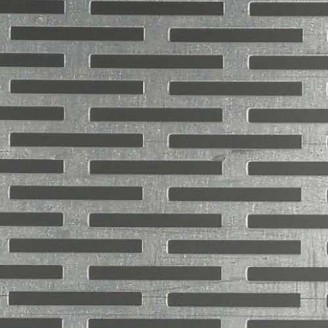 Rectangle Hole Perforated Sheets  Manufacturer, Supplier and Retailer in Gujarat