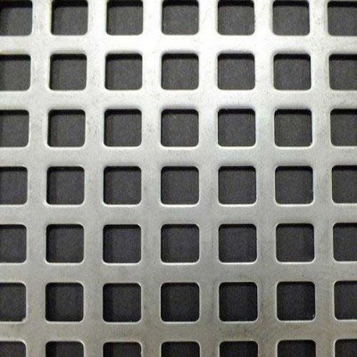 Square Hole Perforated Sheets  Manufacturer, Supplier and Retailer in Ballabgarh