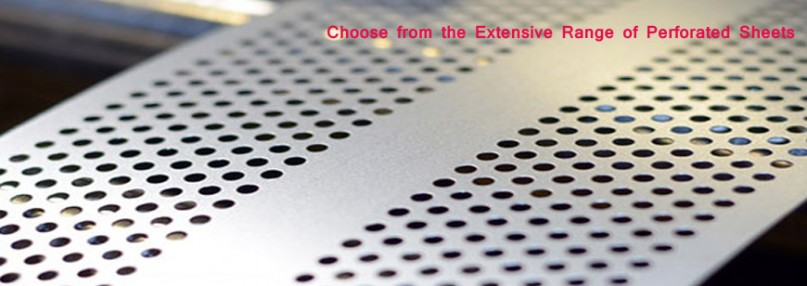 Choose from the Extensive Range of Perforated Sheets